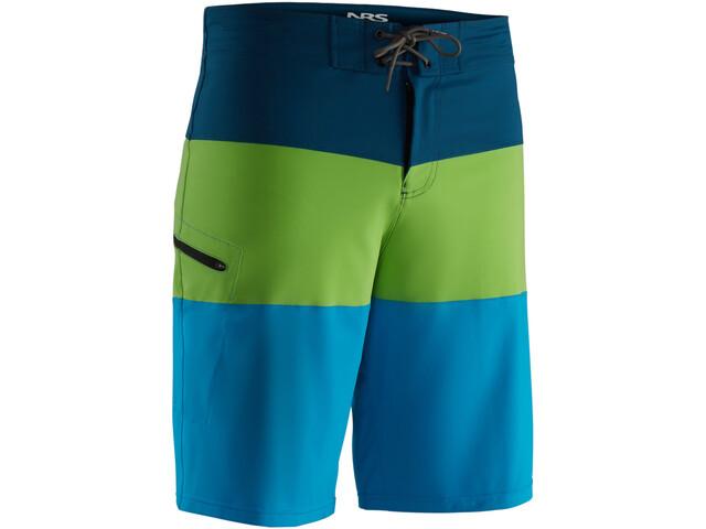 NRS Benny Pantalones cortos Hombre, blue/green